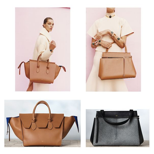 Celine Tie Tote Bag And Edge Tote Bag | FASHION \u0026amp; BAGS ...
