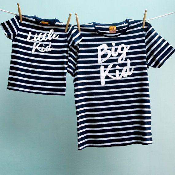 Matching T Shirt Big Kid / Little Kid Twinset by TwistedTweeLtd