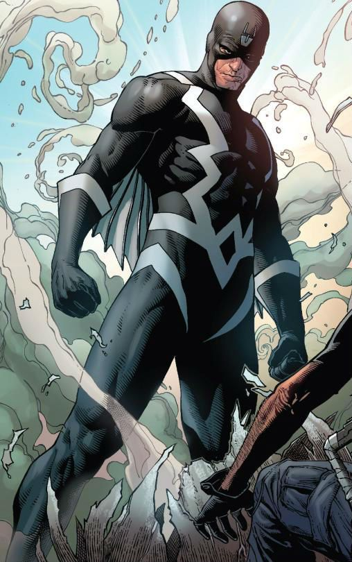 Black Bolt by Steve Mcniven
