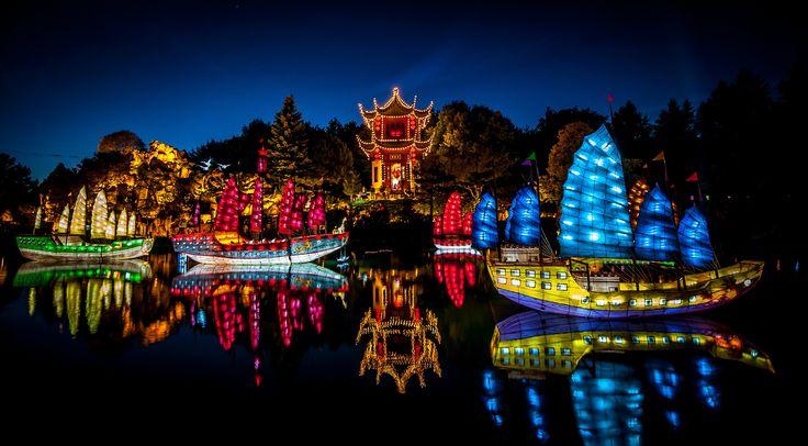 Lantern Festival at Botanical Garden (Montreal, QC) #montreal