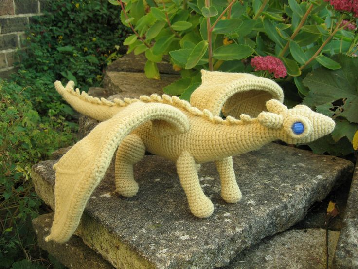 Crochet Dragon | How to Crochet your Dragon | Ms Premise-Conclusion