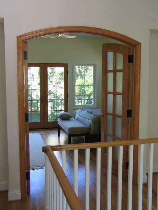 11 best oak or white trim that is the question images on for Combining stained and painted trim