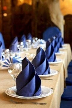 Folded napkins are an easy way to Impress your guests & family! See 20 plus napkin folding styles including fun shapes, simple techniques & holiday styles!