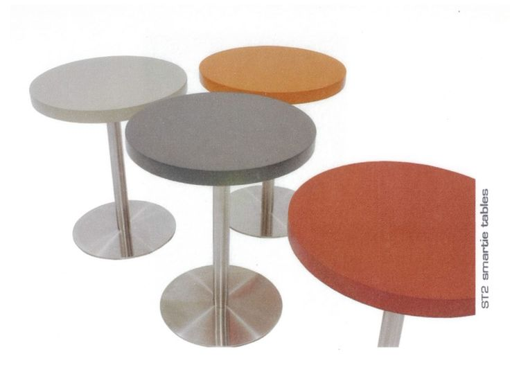 Smartie table, design by Melanie Hall. #melaniehall #melaniehalldesign #table #furniture #design