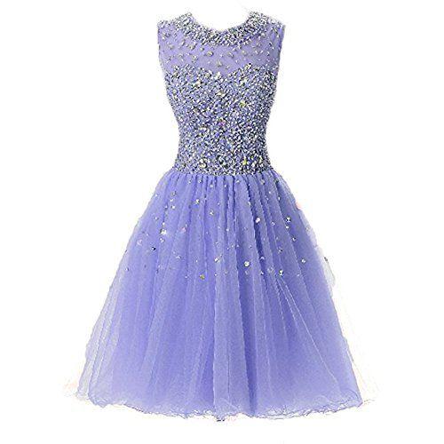 SeasonMall Womens Short Prom Dresses A Line