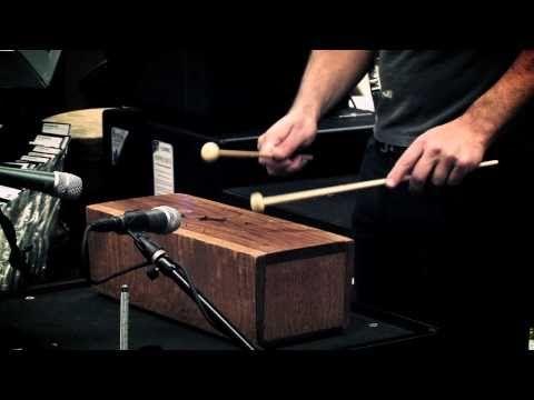 Stephen Perkins - African Slit Drum at Guitar Center Sessions