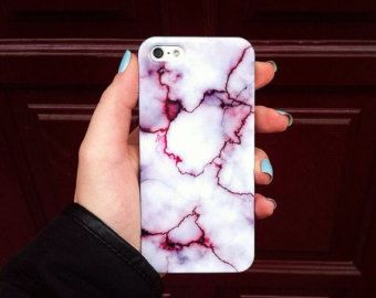 PURPLE MARBLE CASE iPhone 6 case iPhone 6s case by needthecase