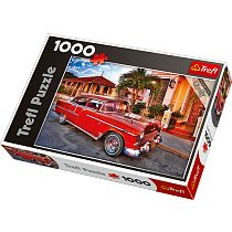 Trefl, Chevrolet Bel Air Oldtimer, puzzle, 1000 elementów