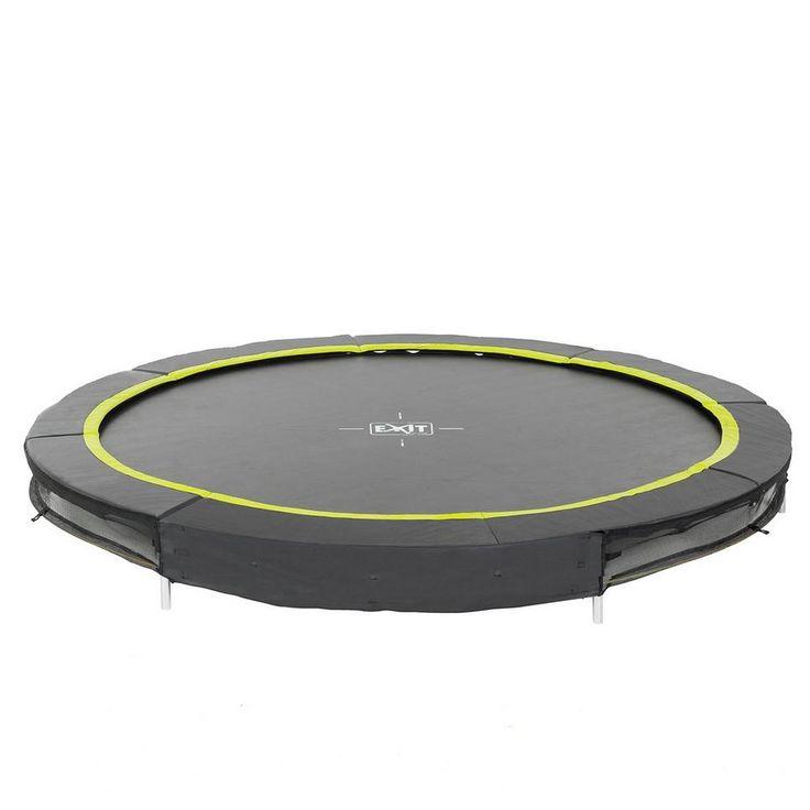 EXIT Silhouette Ground 244cm (8ft) ingraaf trampoline, Ingraaf