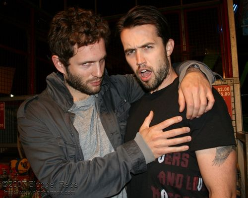 https://flic.kr/p/394uFC | Charlie Day and Rob McElhenney