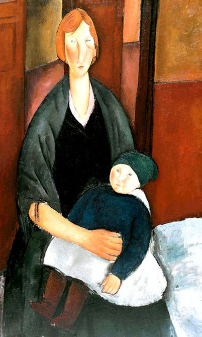 Modigliane. Maternidad