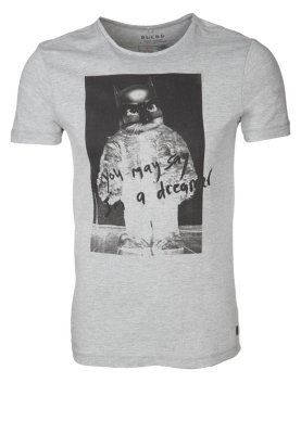 T-shirts print - grå
