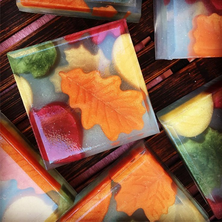 Falling Leaves Soap by Lilac and Olive Soaps