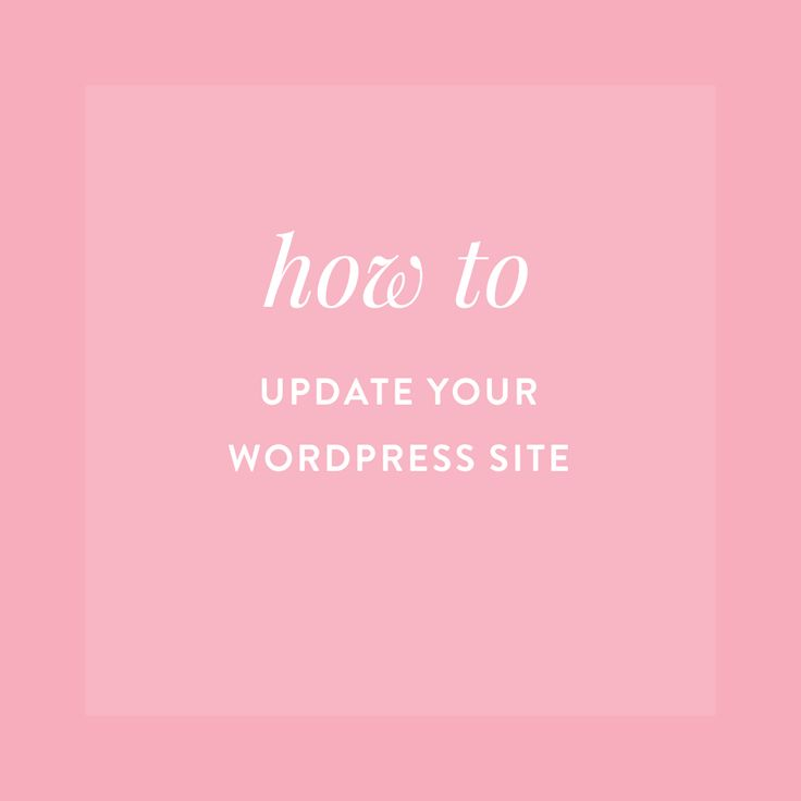 """""""I'm sure you've all seen it...that little notification when you login to your Wordpress dashboard telling you that there is an update available. Should I update? Will it mess my site up? What if th..."""""""