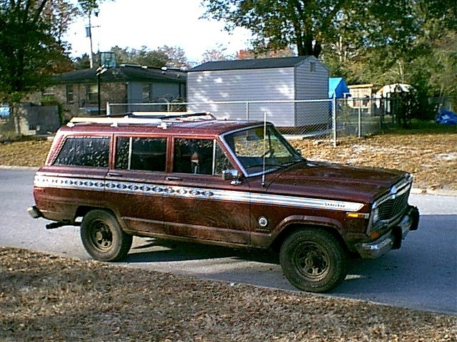 Our 1980 Jeep Cherokee Chief
