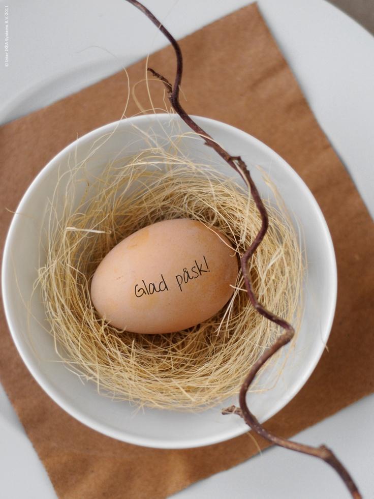 Glad påsk ägg