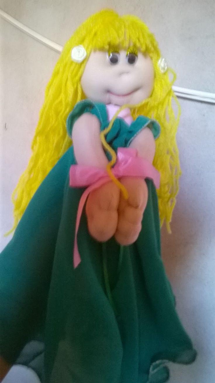 Muñecas de tela bellas!!💖💝