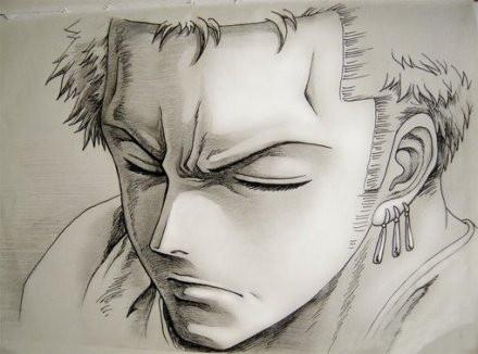 Anime Jungs Art Kunst Zeichnungen Roronoa Zoro Ein Stuck Tattoo Ideen Frieden Zeichnung Projekte