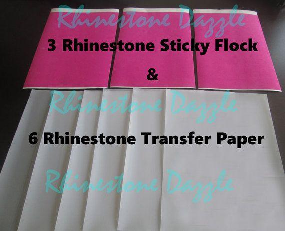 What Is Sticky Flock Rhinestone Template Material The Rhinestone World Vinyl Projects Fun Crafts Rhinestone