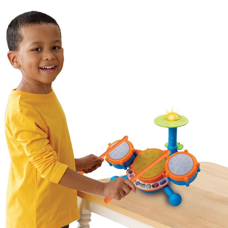 VTech KidiBeats Drum Set - kids musical toy, gift for your little drummer - (Sale Savings)
