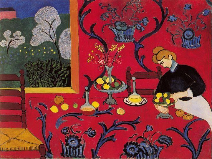 La Desserte Rouge (c) Henri Matisse, uit 1908