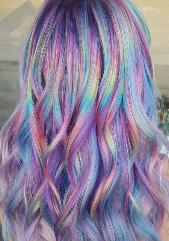 Pretty Shades Of Rainbow Hair Colors for Women in 2018