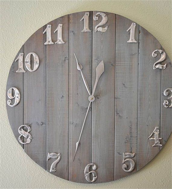 Ideas DIY para un reloj de pared