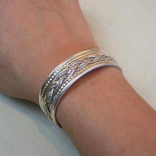 wire braid bracelet - Google Search