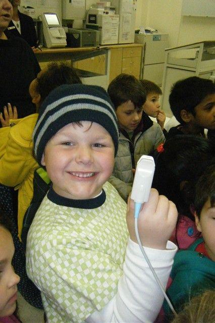 Grade R pupils visited Netcare Blaauwberg Hospital.