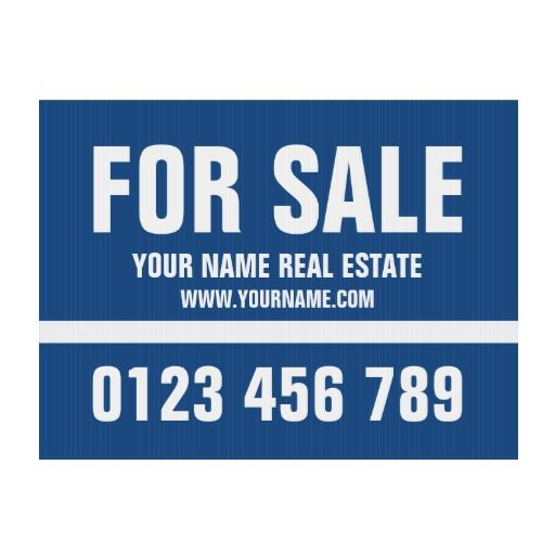 Great Mer Enn 25 Bra Ideer Om Real Estate Yard Signs På Pinterest   House For Sale  House For Sale Sign Template