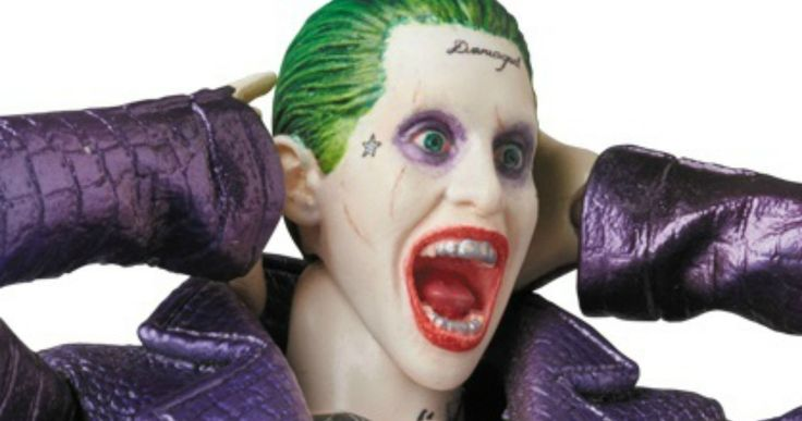 'Suicide Squad' Joker Action Figure Will Have You Screaming -- Get a close look at Jared Leto's psychotic Joker character from 'Suicide Squad' in new action figure photos. -- http://movieweb.com/suicide-squad-movie-toys-joker-action-figure-photos/