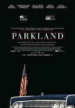 Parkland (2013) USA Thriller Co-Prod: Tom Hanks. Zac Efron, Billy Bob Thornton, Marcia Gay Harden, Paul Giamatti, Ron Livingston, Gil Bellows, Colin Hanks, Jacki Weaver, Jeremy Strong. 24/10/17