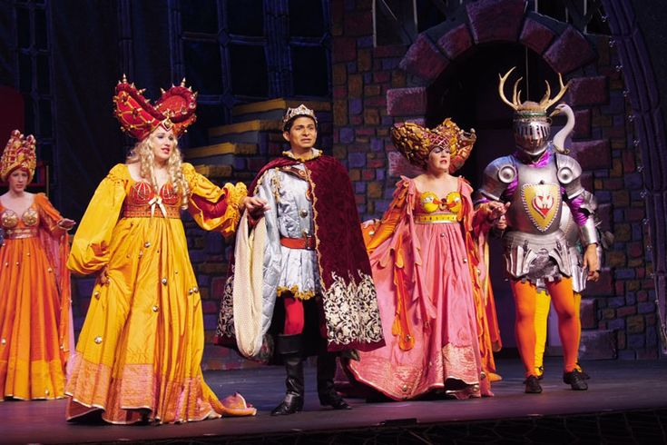 Once Upon A Mattress Plot & Costume Rental - Costume World Theatrical
