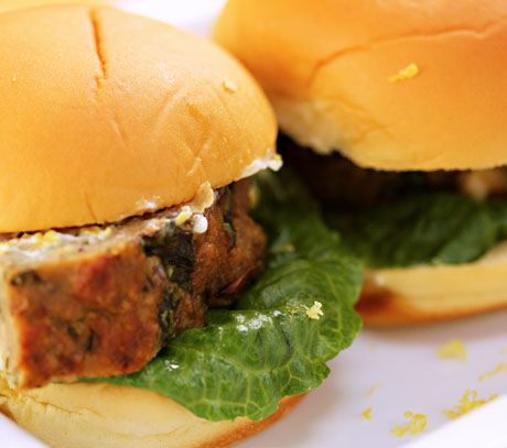 ... with Sliders on Pinterest | Lamb meatballs, Bacon and Chicken sliders