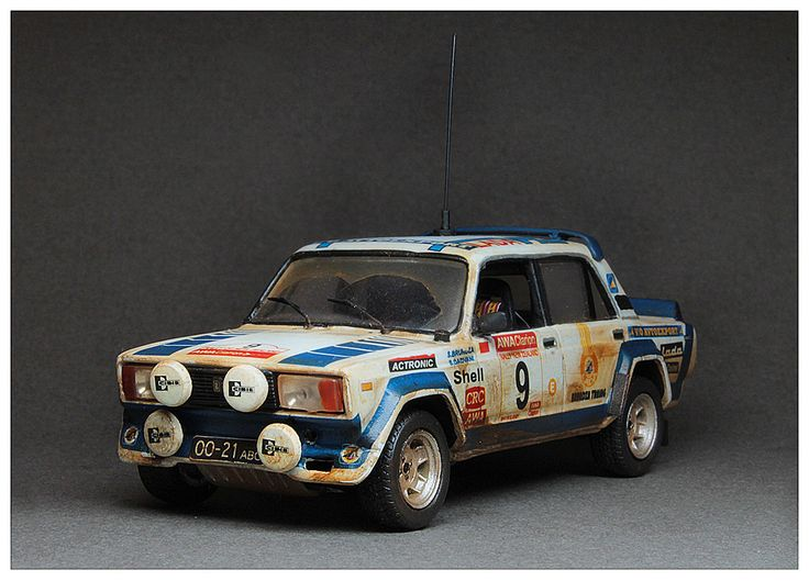 "Lada VFTS 1/43 Rally New Zealand 1985 (Resin) version - ""In action""  S.Brundza/S.Dadvani. Rally final results http://www.ewrc-results.com/final.php?e=1495&s=0&section=0"