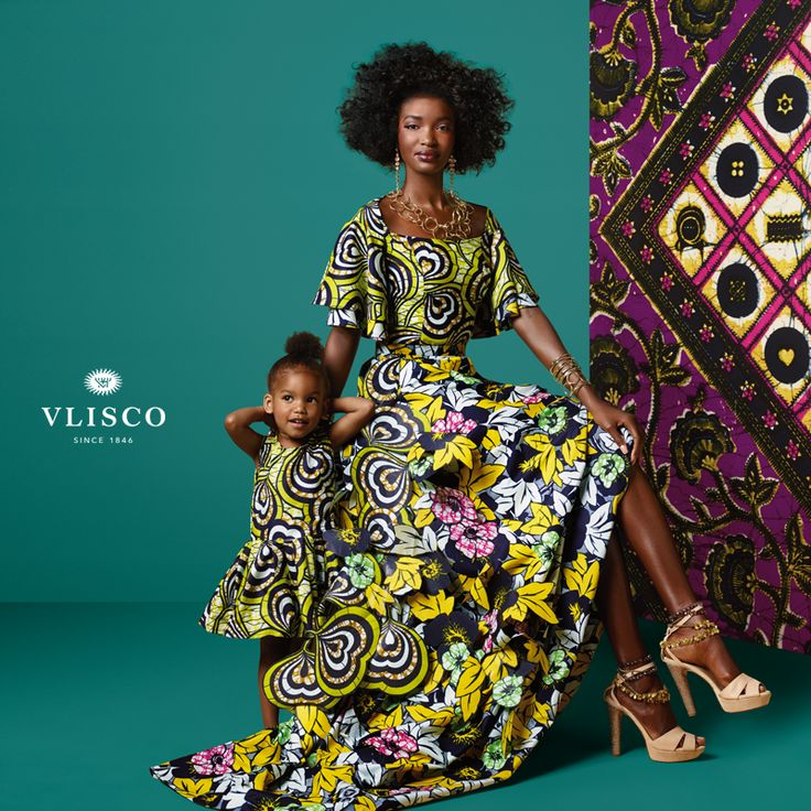 MOTHERS & DAUGHTERS Love through the generations! Each mother who is blessed with a daughter passes on their wisdom and creates new traditions and moments to share. Cherish these moments knowing you'll always feel confident and proud in the true original, Vlisco.