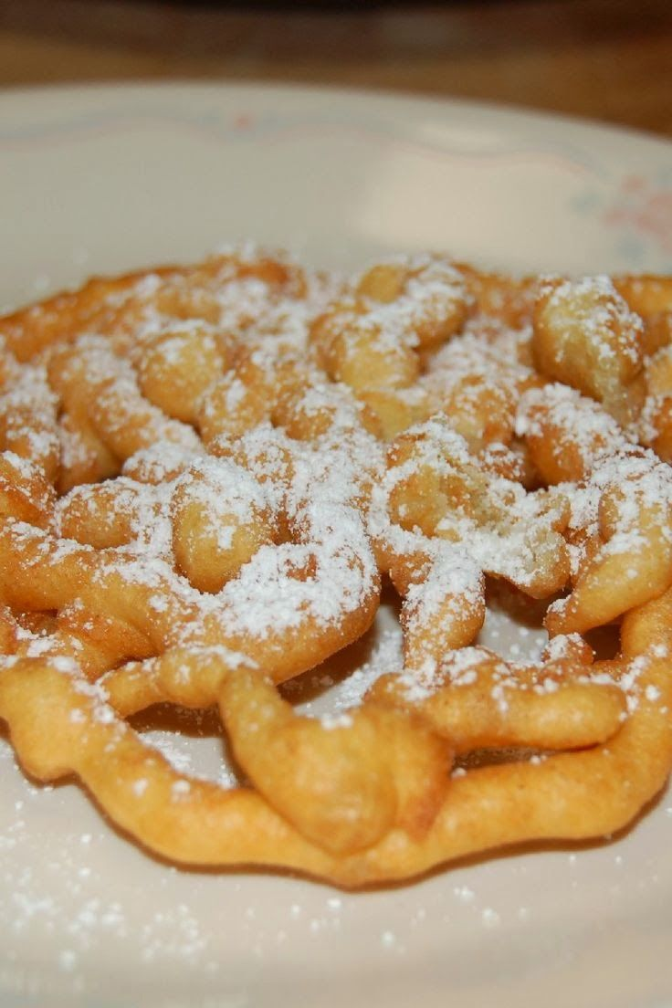 Wonderland Funnel Cake Recipe