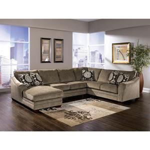 Nebraska Furniture Mart – Ashley 3 Piece Sectional