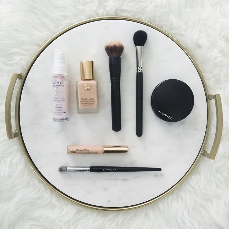 Full coverage makeup for acne