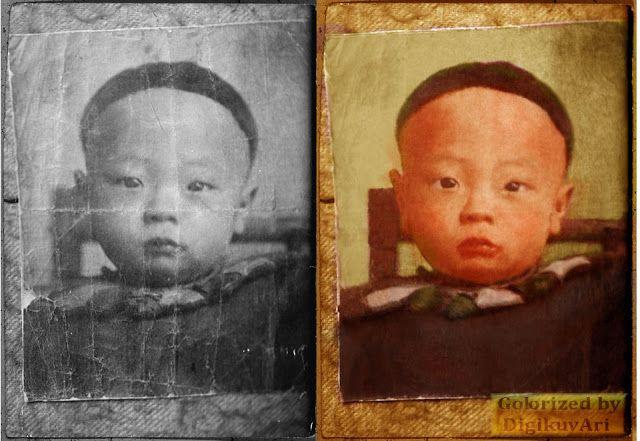 Chun Jan Yut, colorized, kuvankäsittely