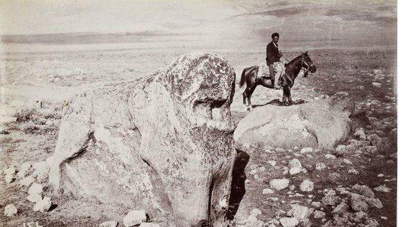Malatya, Hitit Aslanı, 1881-1882