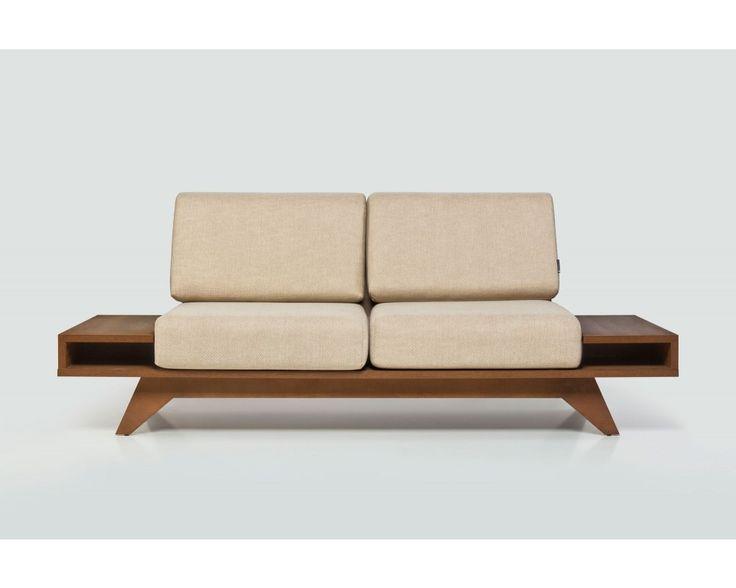 Sofa Float nogal