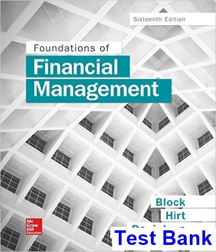 50 best test bank download images on pinterest foundations of financial management 16th edition block test bank test bank solutions manual fandeluxe Image collections