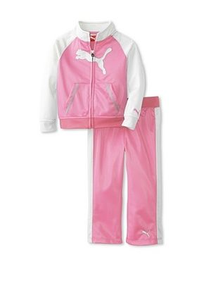 69% OFF Puma Girl's Raglan Cat Tricot Set (Go Pink)