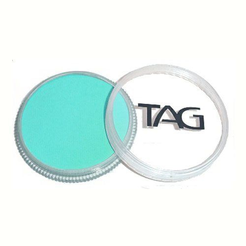 TAG Face Paints - Teal (32 gm) by TAG Body Art. $6.47. TAG Face Paint is very easy to blend, soft on the skin and does not crack or peel.. Each 32 gram TAG Face Paint Container is good for 50-200 applications.. Great for line work. TAG face paint is hypoallergenic and made with non-toxic, skin safe ingredients.. TAG Teal Face Paint is very easy to blend, soft on the skin and does not crack or peel. Most of TAGs face painting colors are great for line work and lighter fac...