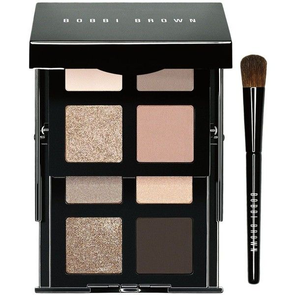 Bobbi Brown Sandy Nude Eye Palette ($65) ❤ liked on Polyvore featuring beauty products, makeup, eye makeup, eyeshadow, no color, bobbi brown cosmetics, eyeshadow brushes, eye shadow brush, shadow brush and palette eyeshadow
