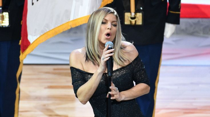 ICYMI: Fergie Apologizes For National Anthem, Saying She 'Tried Her Best'