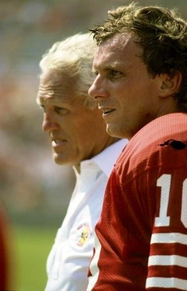 Bill Walsh & Joe Montana, The Greatest Coach & The Greatest Player Ever!!
