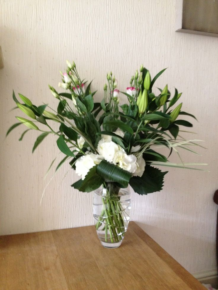 Oriental Lilies, Hydrangea and Lisianthus