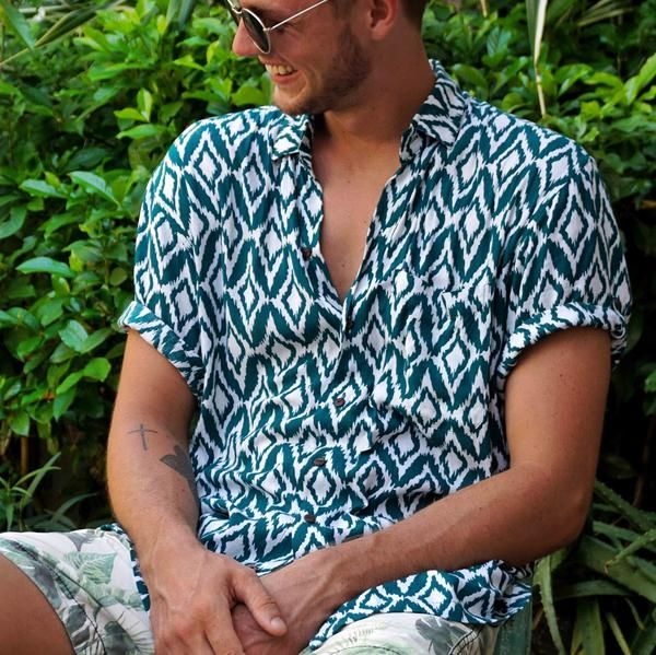 Kenny Flowers Spring 2017 Shirts New Releases - The Island Diamonds - Jungle